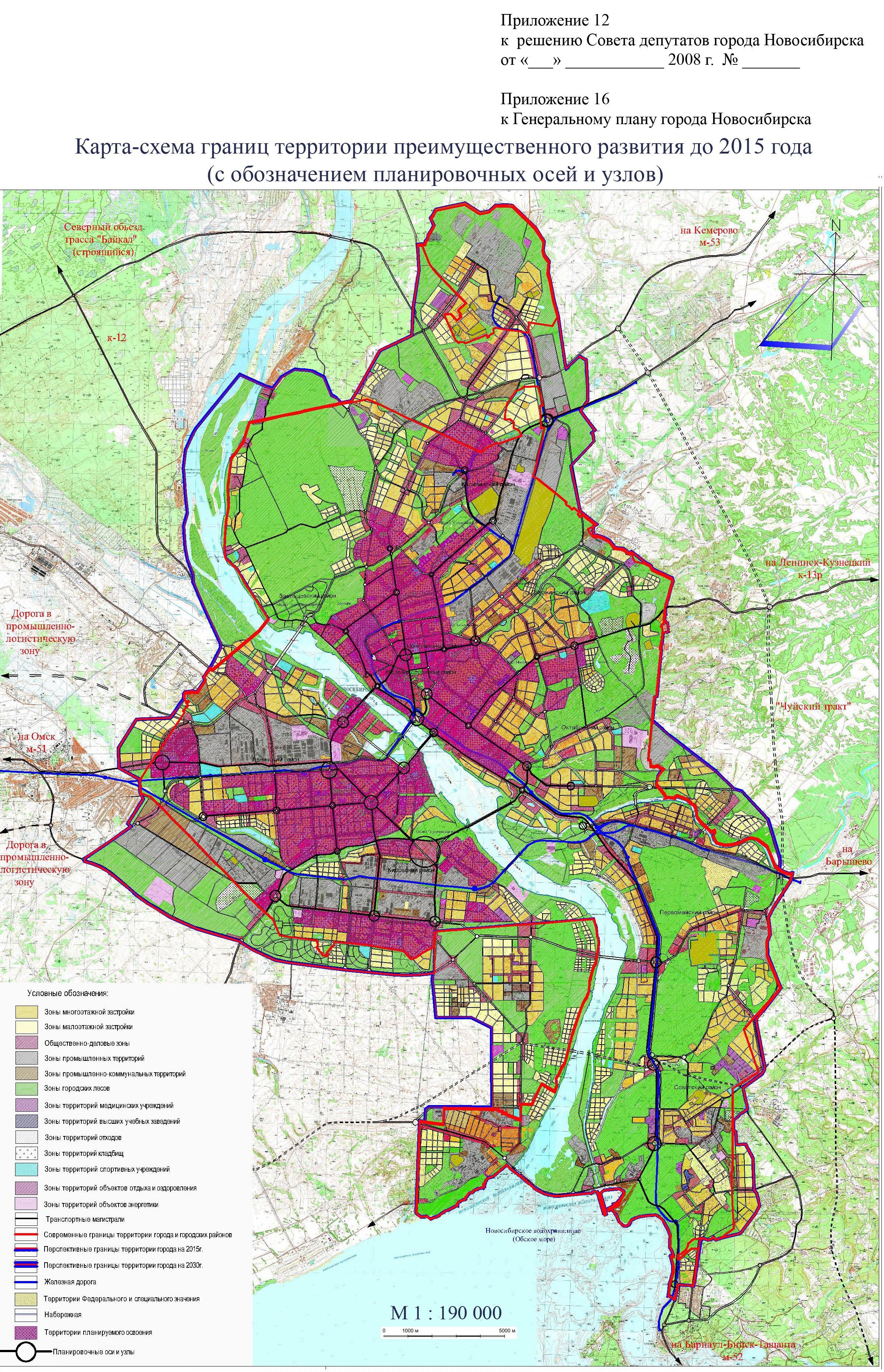 Схемы зонирования сети